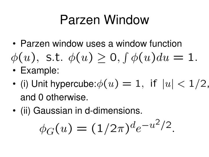 Parzen Window