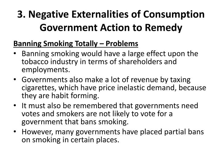 3. Negative Externalities of Consumption