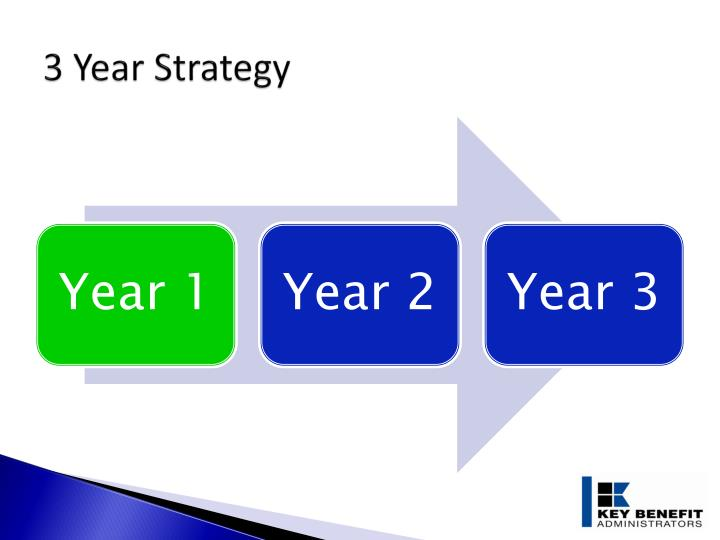 3 Year Strategy