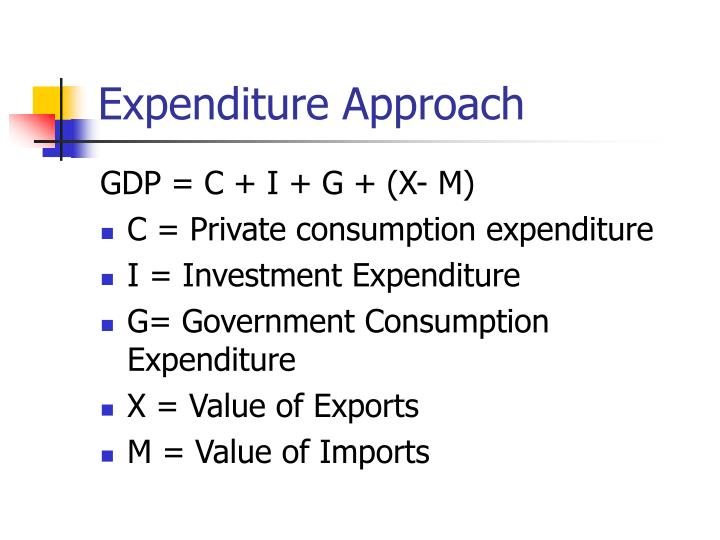 Expenditure approach