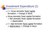 investment expenditure i2