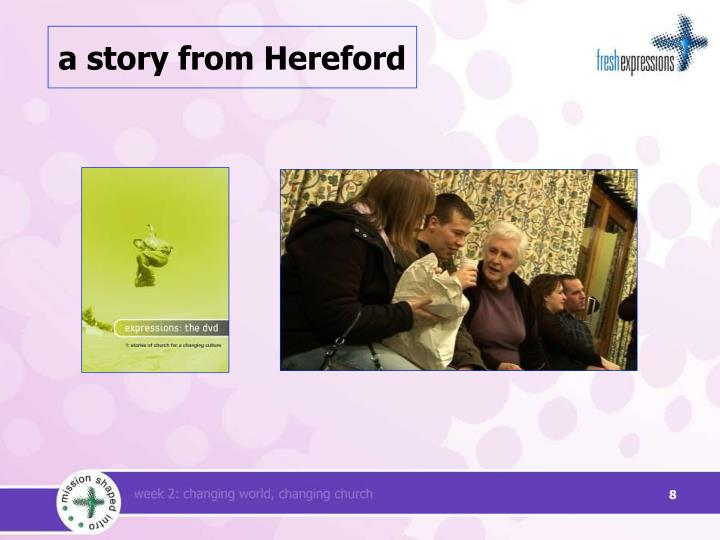 a story from Hereford