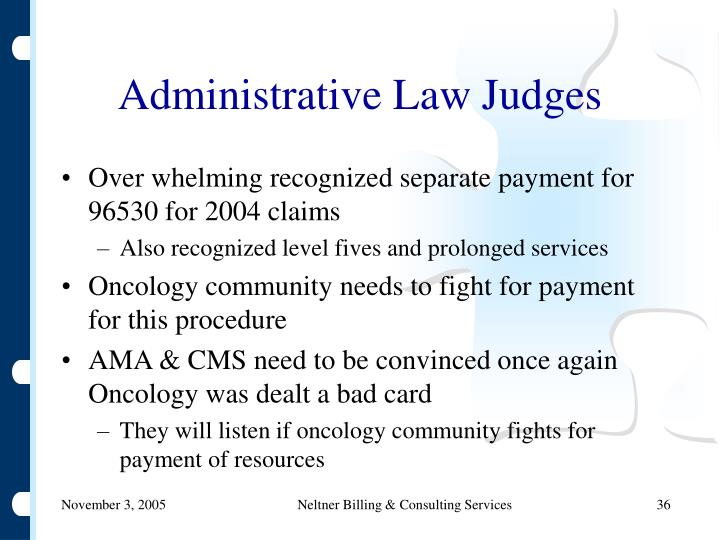 Administrative Law Judges