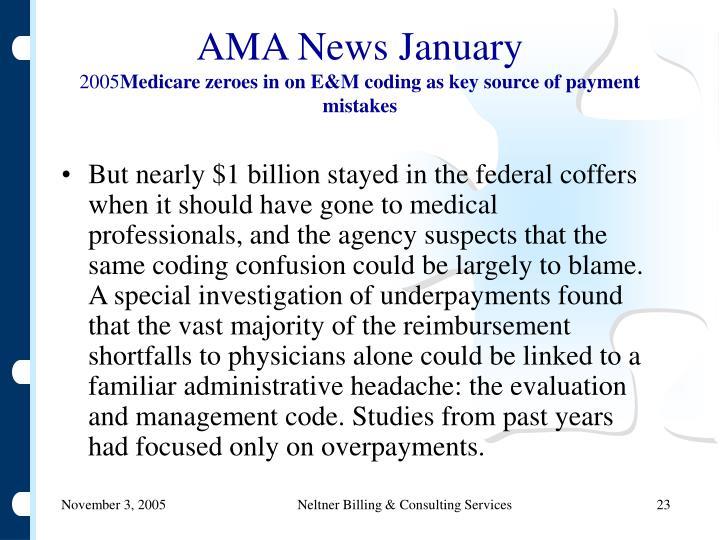 AMA News January