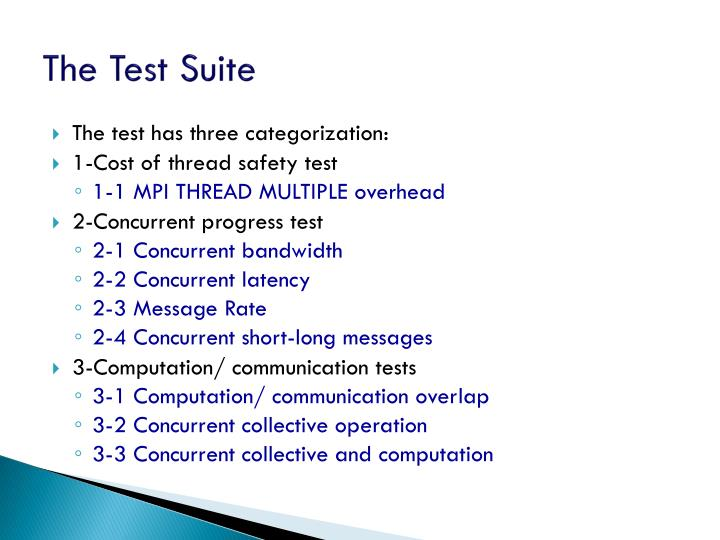 The Test Suite