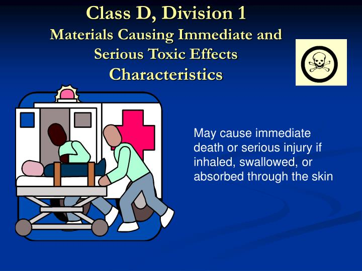 Class D, Division 1