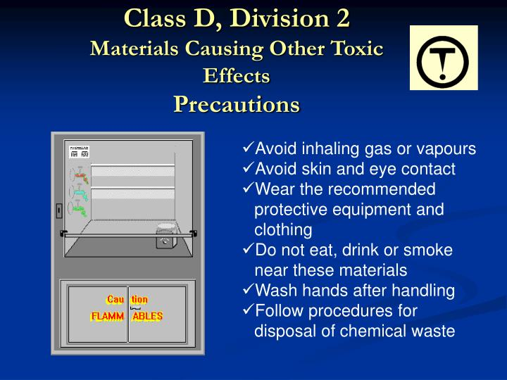 Class D, Division 2