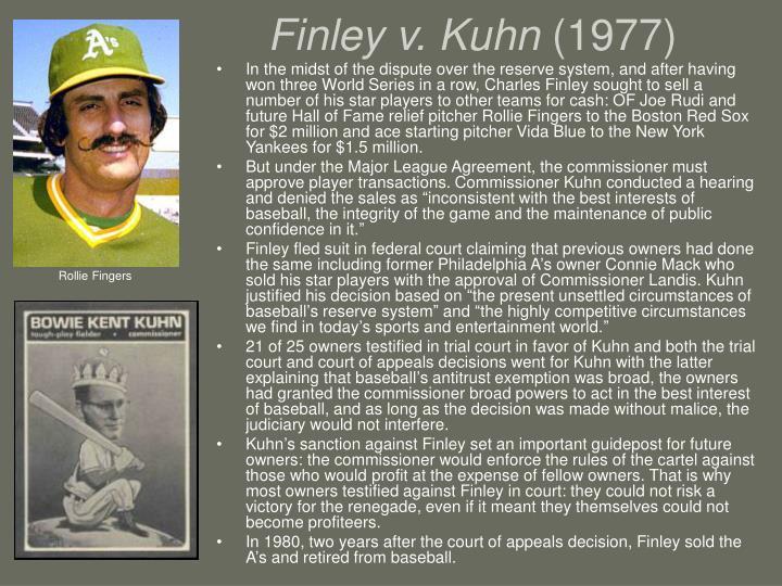 Finley v. Kuhn