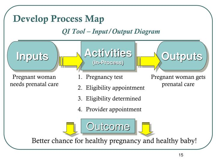 Develop Process Map