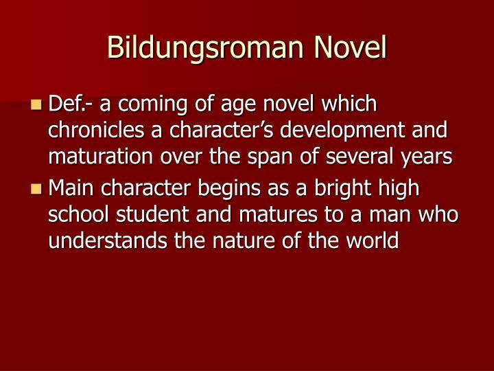 Bildungsroman Novel