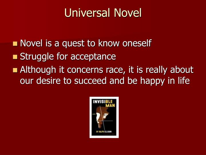 Universal Novel