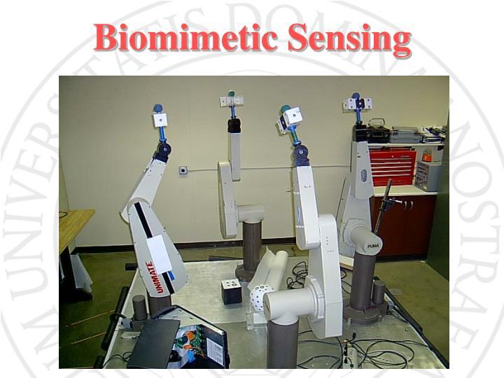 Biomimetic Sensing