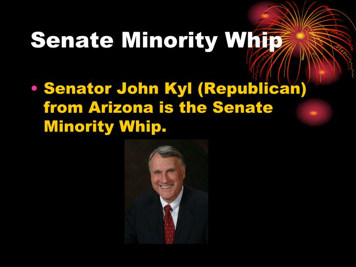 Senate Minority Whip