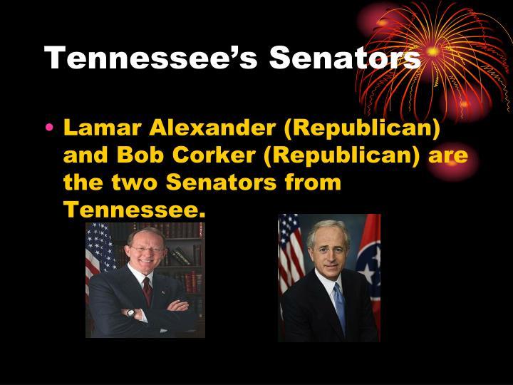 Tennessee's Senators