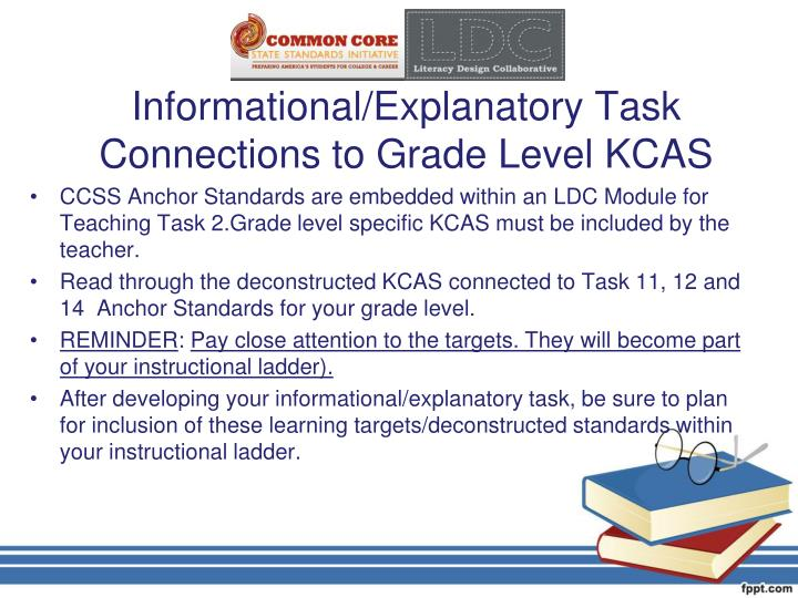 Informational/Explanatory Task
