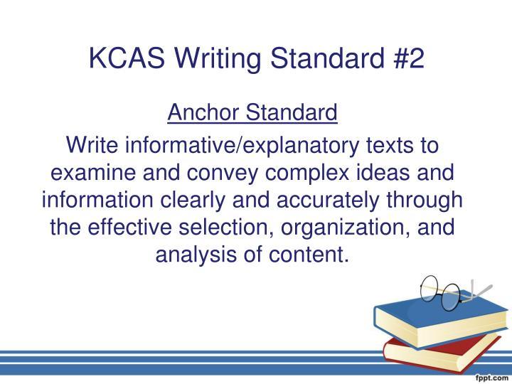 KCAS Writing