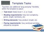 template tasks1