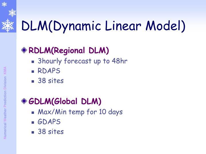 RDLM(Regional DLM)