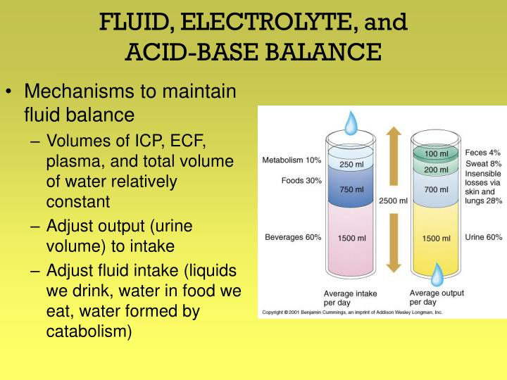 FLUID, ELECTROLYTE, and