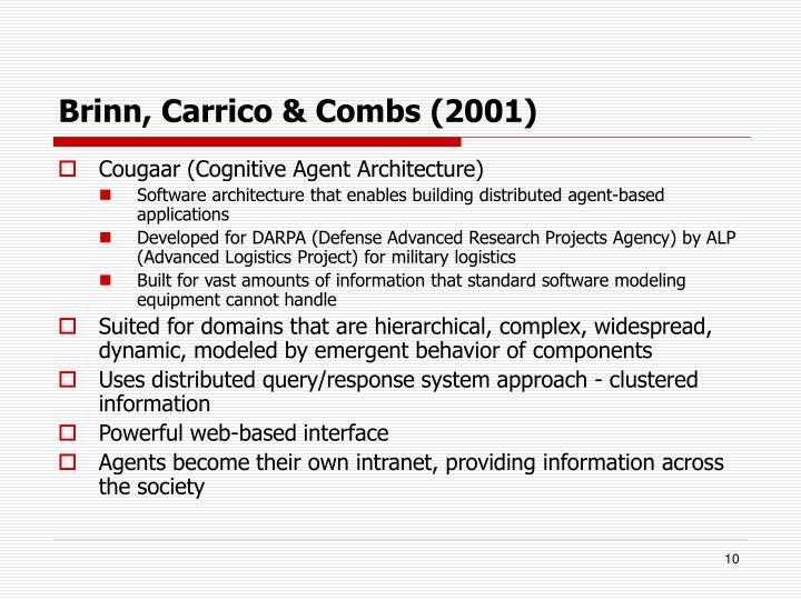 Brinn, Carrico & Combs (2001)