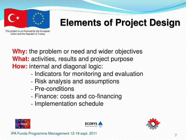 Elements of Project Design