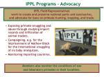 ippl programs advocacy