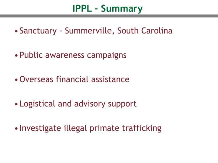IPPL - Summary