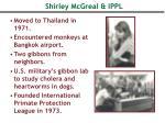 shirley mcgreal ippl