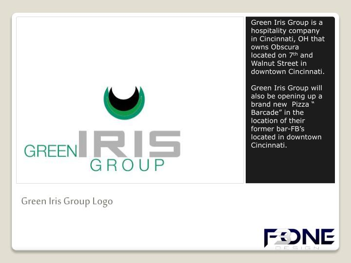 Green Iris Group is a hospitality company in Cincinnati, OH that owns
