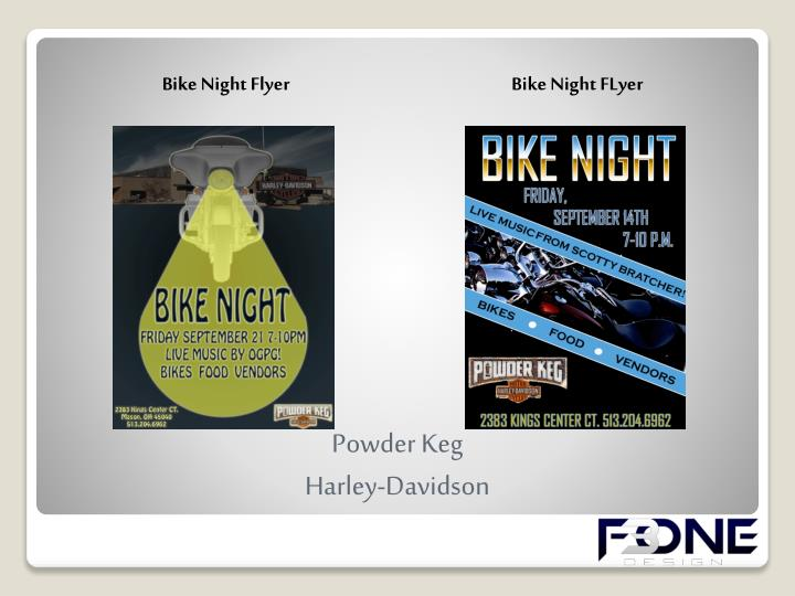 Bike Night Flyer