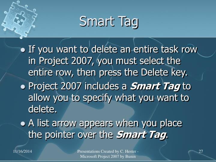 Smart Tag