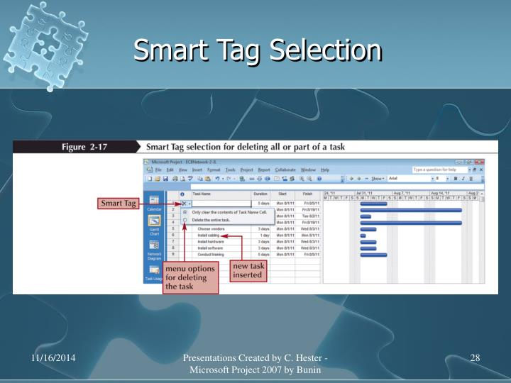 Smart Tag Selection