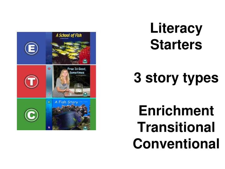 Literacy Starters