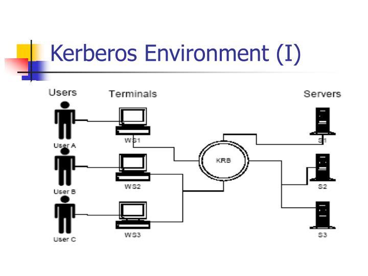 Kerberos Environment (I)