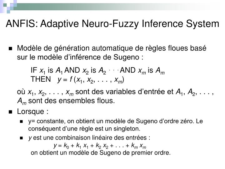 ANFIS: Adaptive Neuro-Fuzzy Inference System