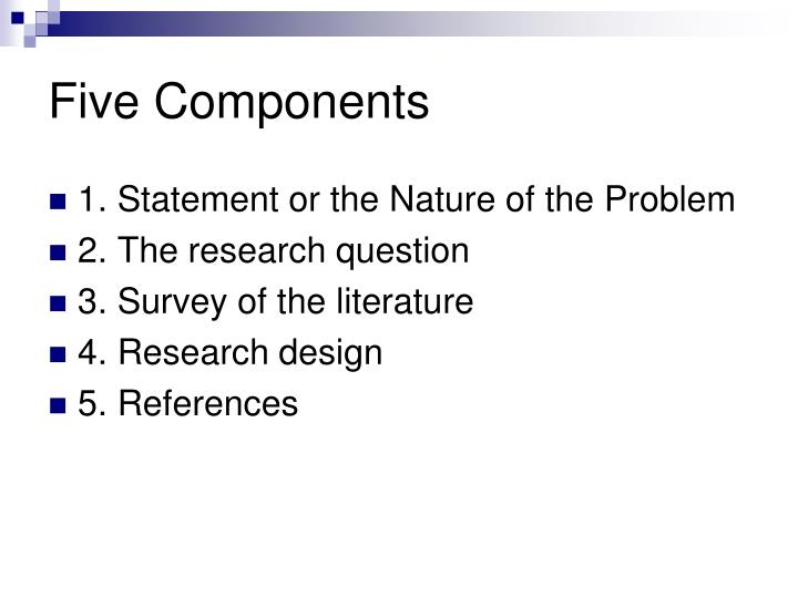 Five Components