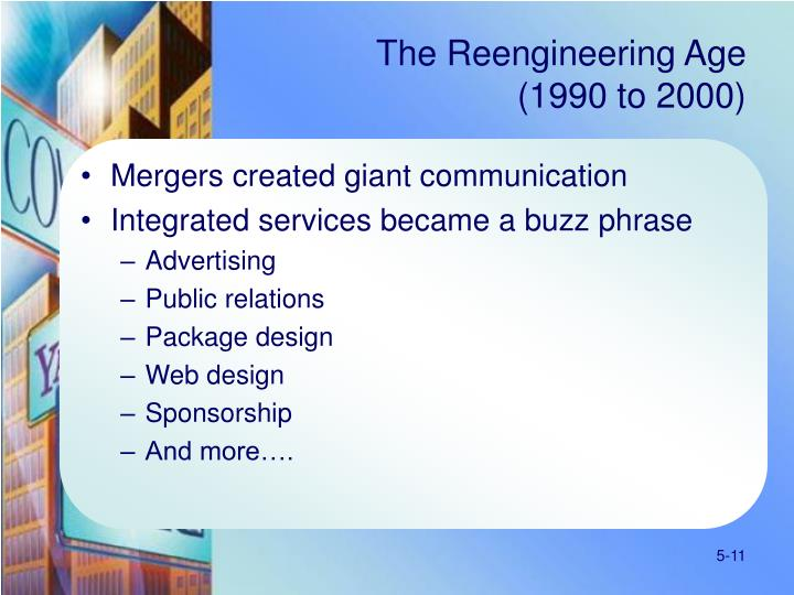 The Reengineering Age