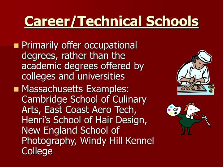 Career/Technical Schools