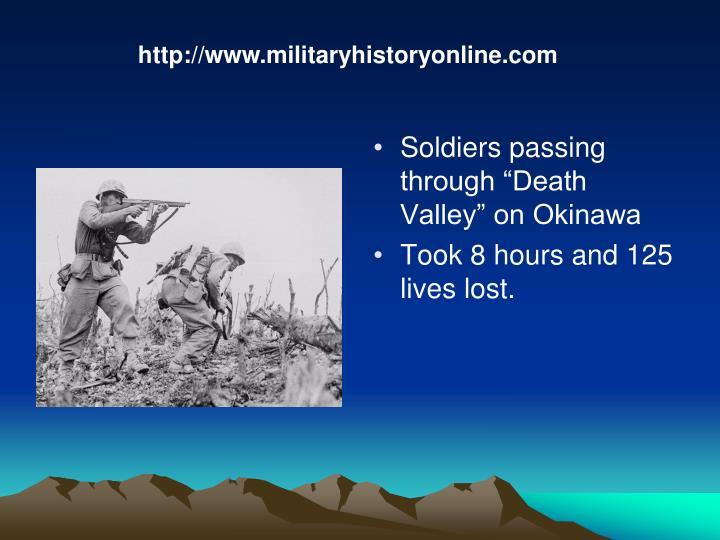 http://www.militaryhistoryonline.com