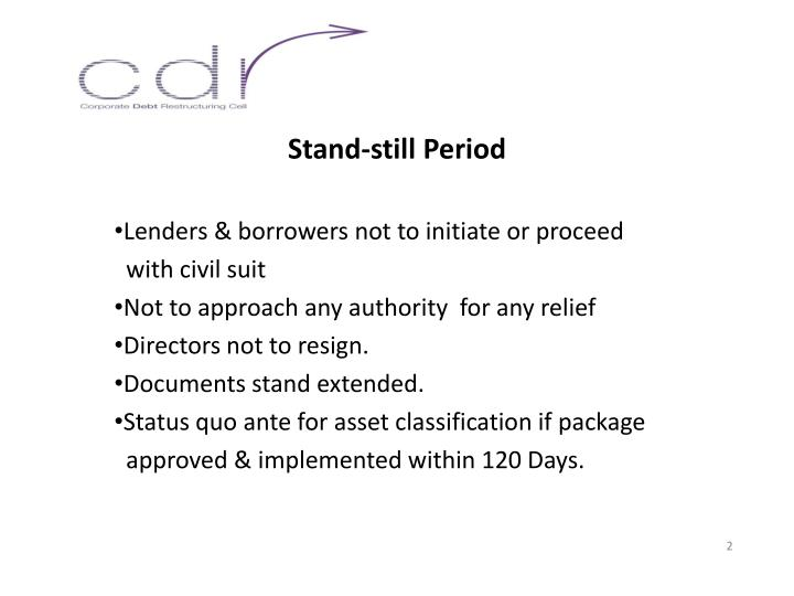 Stand-still Period