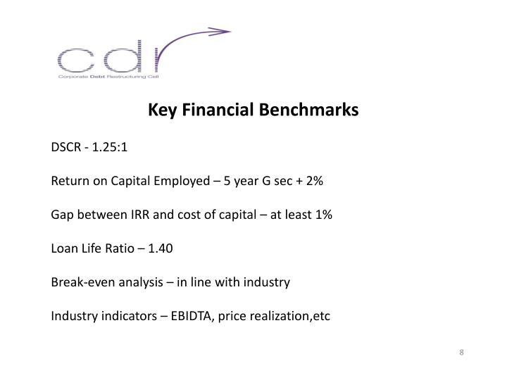 Key Financial Benchmarks