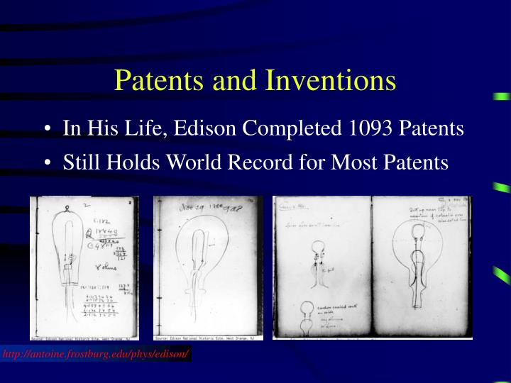 Patents and Inventions