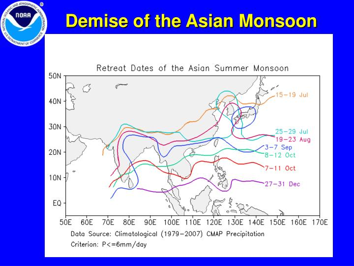 Demise of the Asian Monsoon