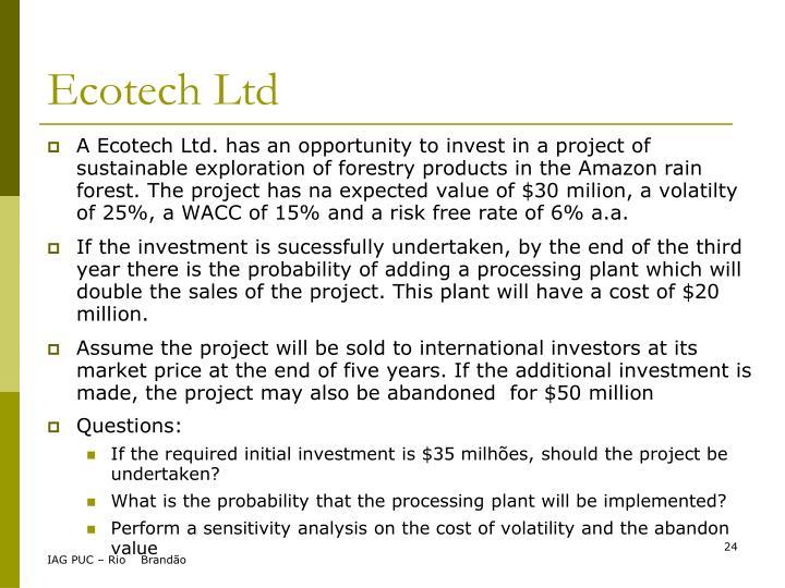 Ecotech Ltd