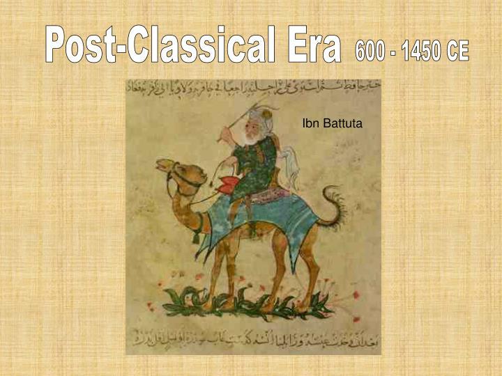 Post-Classical Era