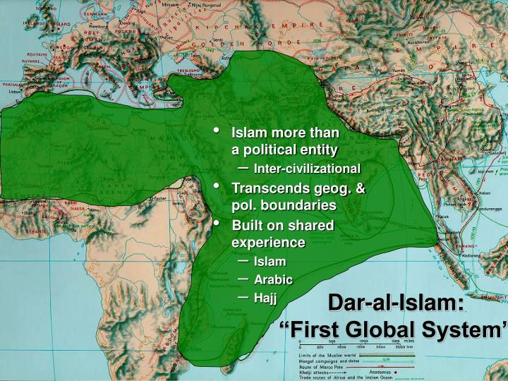 Islam more than                   a political entity