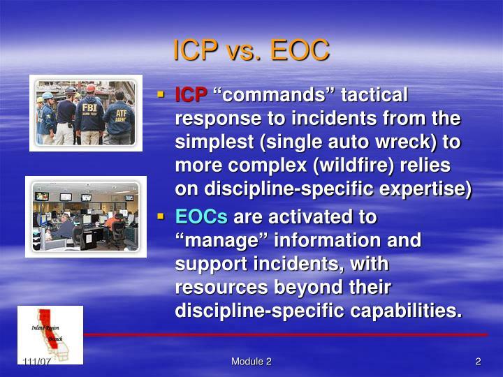 ICP vs. EOC