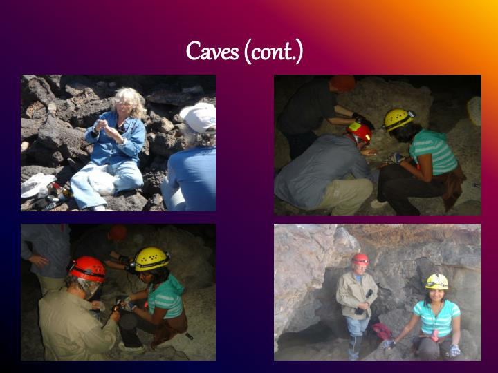 Caves cont