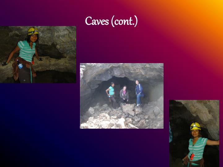 Caves cont1