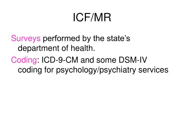 ICF/MR